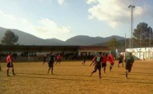 Sierra Segura y La Puerta durante un partido de Tercera Andaluza | Sierra Segura CF