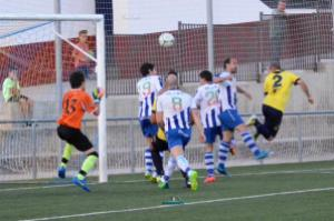 Tati marcando el empate | Manuel Zapata