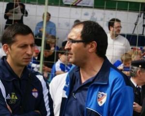 Cañete y Manolo Herrero en una foto de archivo.