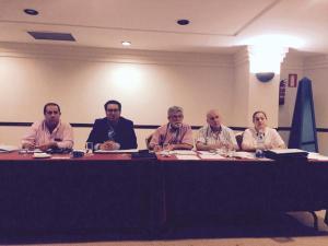 Mesa del Congreso del Centenario que en mayo presento la propuesta