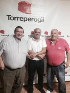 Juande el día de su renovación | CD Torreperogil