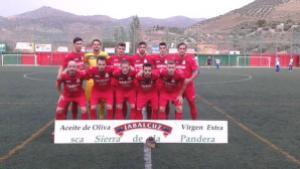 Once de Los Villares ante el Loja | Francisco Millán