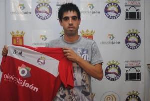 Pablo Jódar la temporada pasada   Baeza CF