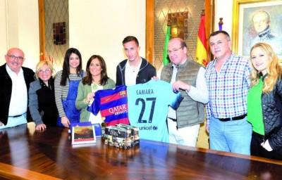 Juan Cámara recibido en el Ayuntamiento | Diaro Jaén