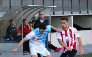 Simarro en un partido en casa | Fernando Cano
