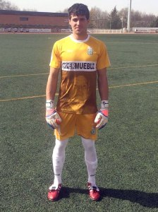 José Domingo posa con la nueva camiseta | CD Úbeda Viva