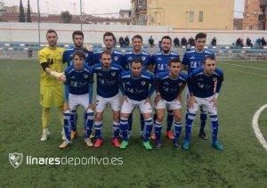 Once del Linares ante el Hispania  en la primera vuelta | Linares Deportivo