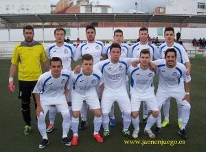 Once del Villargordo CF en Torredelcampo | Benjamín Alguacil