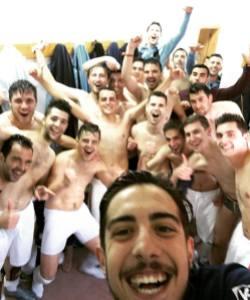 La plantilla del Villargordo celebra su ascenso | Villargordo CF