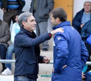 Valenciano y Simarro, los dos últimos vencedores del mejor entrenador de Segunda Andaluza | Manuel Zapata