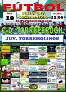 #ElPartidoDelAscenso Cartel oficial del partido | CD Torreperogil