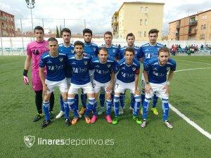 Once del Linares B ante el Carolinense | Linares Deportivo