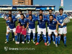 Once del Linares ante el Almería B | Linares Deportivo