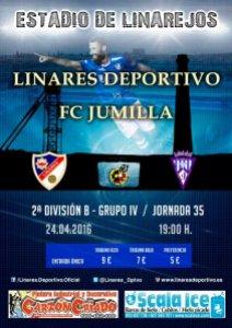 Cartel del Linares - Jumilla | Linares Deportivo