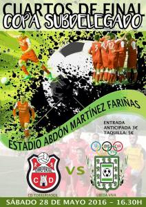 Cartel del partido | CD Torreperogil