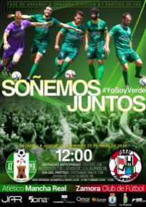 Cartel del partido | Atlético Mancha Real