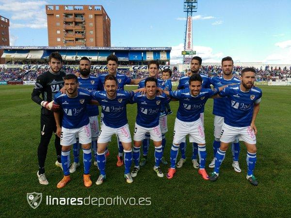 Once Linares ante el Cacereño | Linares Deportivo