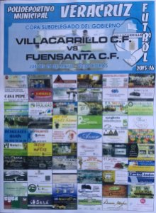Cartel del partido | Villacarrillo CF