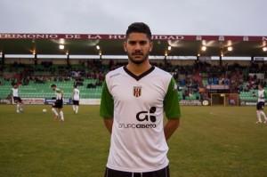Borja Romero con el Mérida | despiertanlosromanos.wordpress.com