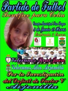 Cartel Arjonilla - Jaén Veteranos | Pedro Hernández
