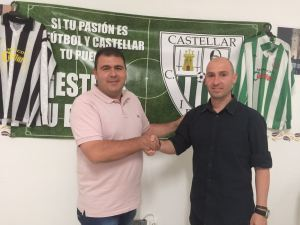 Climent posa como entrenador del Castellar | CD Castellar Íbero