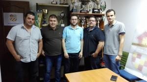 Directivas en el acto | CD Castellar Íbero