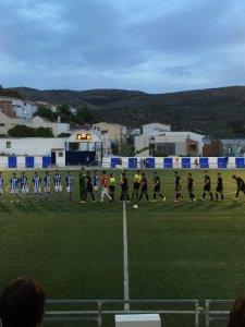 Saludo inicial en el Fuensanta - Villacarrillo | Villacarrillo CF