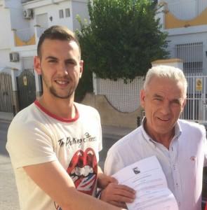 Manu posa ya como jugador begijareño | Begíjar CF