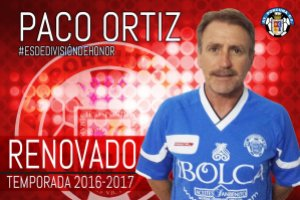 Paco Ortiz renovado | Atlético Porcuna