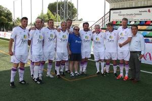 Algunos de los veteranos blancos | Alfonso Rueda