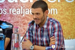 Tejada en un acto anterior | Real Jaén CF