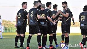 El Jaén celebra uno de sus goles | Juan Pedro Sánchez / Real Jaén CF