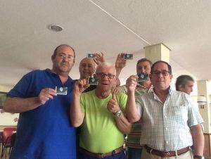 Nuevos aficionados muestran su carnet | Villacarrillo CF