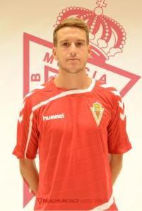 Sergio Guilló en su etapa murciana | Real Murcia CF
