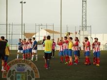 Los jugadores saludan al público | Atlético Porcuna