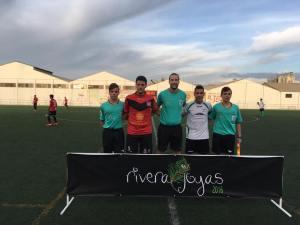 Capitanes y colegiados del Alcalá - Valdepeñas | CD Alcalá Enhoy