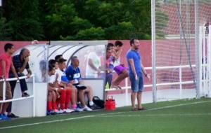 Javi Mañas en un partido de pretemporada | José López Rodríguez