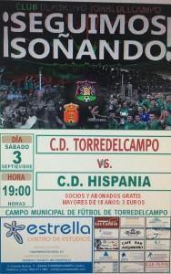 Cartel del derbi | CD Torredelcampo