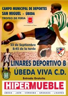 Cartel oficial | CD Úbeda Viva
