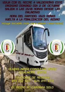 Promoción para viajar con el Bailén | Recreativo Bailén