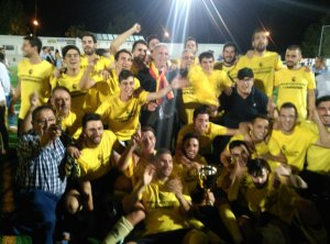 El Begíjar celebra su triunfo | Begíjar CF