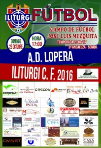Cartel del partido | Iliturgi CF