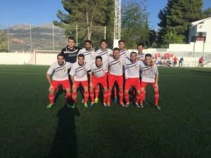Once del Atlético Sabiote | Pedro J. Trillo