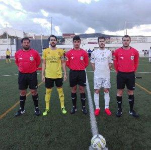 Capitanes y árbitros del Begíjar - Villanueva | Begíjar CF
