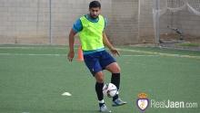 Fran Martínez en un entrenamiento | realjaen.com