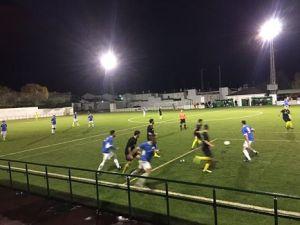 Momento del partido entre Lopera y Útica | Lopera Digital