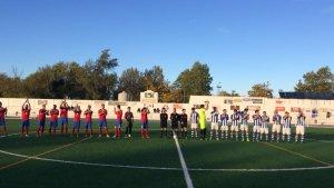 Saludo inicial entre Baeza y Fuensanta | Baeza CF
