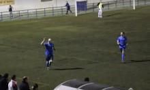 Gaso celebra el gol del empate | CD Tugia