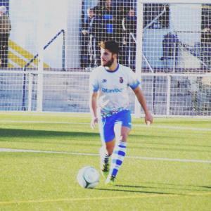 Óscar Reyes en un partido de esta temporada | CD Vilches