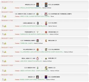 Horarios para la jornada 21 | Federación Jiennense de Fútbol